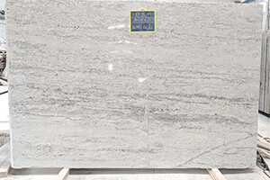 River White Granite Slab at Quality Marble Exports