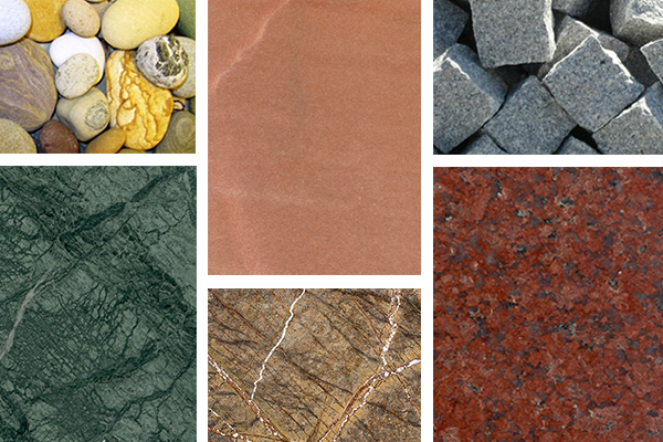 Exclusive Range of Natural Stones
